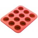 12 Mini Cupcake Silicone Bakeware