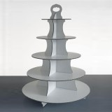 5 Tier Disposable Cupcake Stand