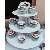 3 Tier Disposable Cupcake Tower